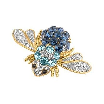 The beetle has bling! AZ Collection Swarovski Crystal Beetle Brooch £141.50 Amazon.co.uk