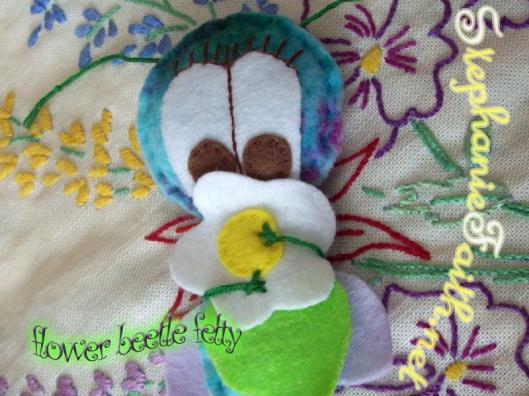 Flower Beetle Felty